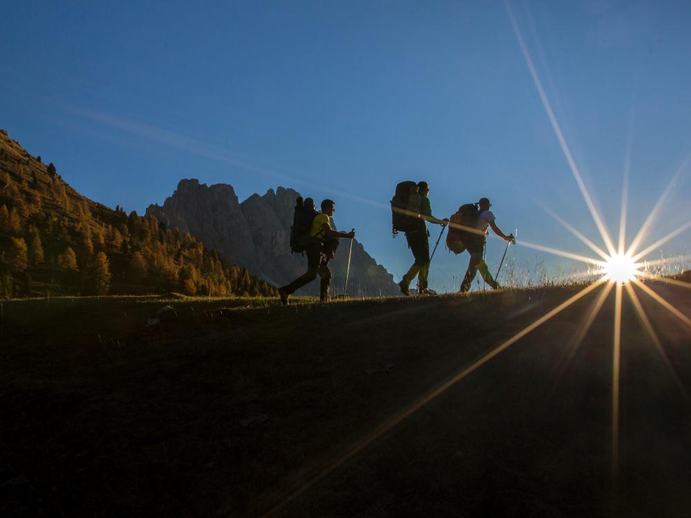 Sass Rigais Klettersteig Villnöss : Klettersteige dolomitental villnöss